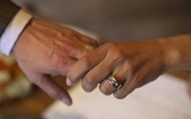Robin and Sarah wedding rings by Stefan Witjes