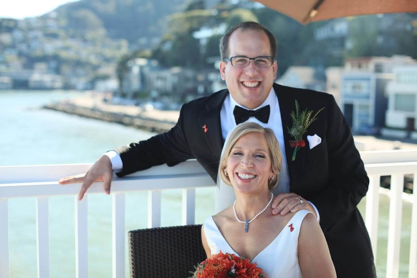 Darrel and Janet wedding