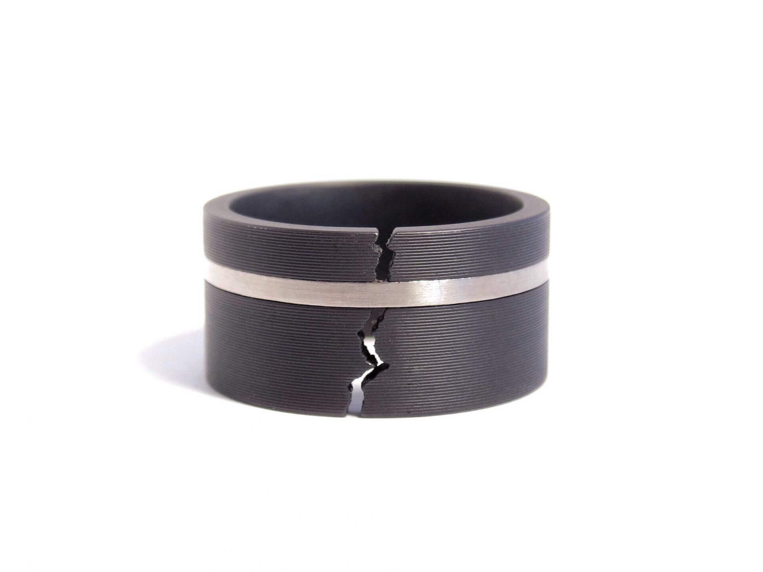 black steel ring