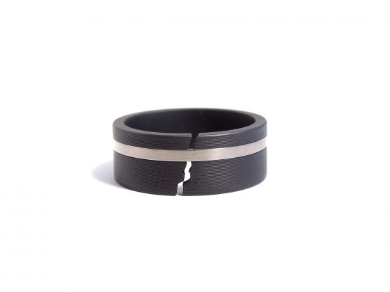 black steel ring