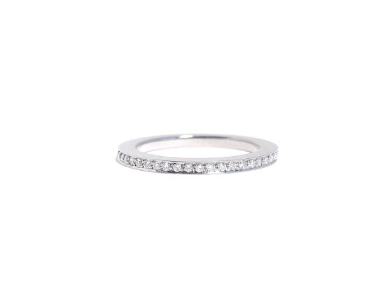 Steel Eternity Ring